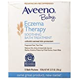 Aveeno soothing baby bath treatment single use packets 5 ea