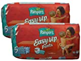 Pampers Easy Up Pants Unisex Size 5 (26-40 lbs/12-18 kg) 76 Pants
