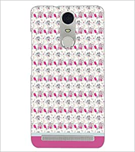 PrintDhaba Pattern D-1666 Back Case Cover for LENOVO K5 NOTE (Multi-Coloured)