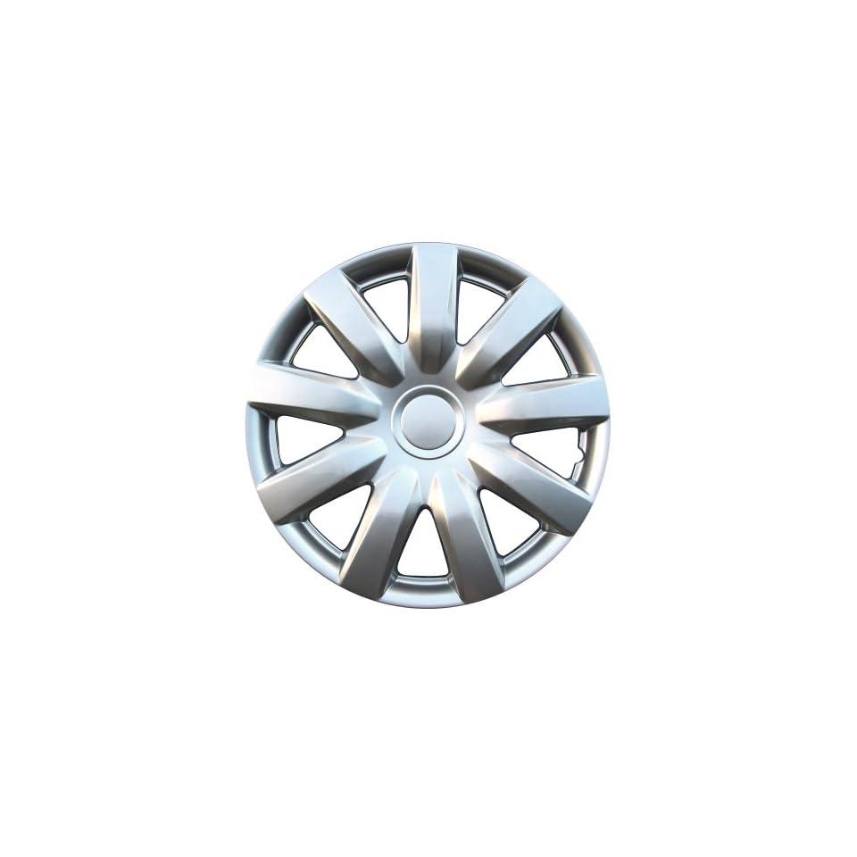 Drive Accessories KT 985 15S/L, Toyota Camry, 15 Silver Lacquer Replica Wheel Cover, (Set of 4)