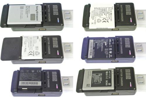 ANE 電池パック充電器 【 コンセントタイプ:入力AC100V-240V 】 黒 汎用マルチタイプ(スマートフォン リチウムイオンバッテリーチャージャー)ANE-500-01B (特徴 電池の+- を自動認識):充電適用機種→2011~2012:docomo:ARROWS◇Kiss F-03D F23:X LTE F-05D F24:μ F-07D F24:Me F-11D F26:X F-10D F27:V F-04E F28:AQUOS PHONE◇SH-12C SH28:f SH-13C SH29:SH-01D SH31:slider SH-02D SH32:SH-06D SH31:st SH-07D SH35:sv SH-10D SH38:ZETA SH-09D SH37:si SH-01E SH36:GALAXY◇S SC-02 SC02:S II SC-02C SC03:S II LTE SC-03D SC04:NEXUS SC-04D SC05:S Ⅲ SC-06D SC07:Note SC-05D SC06...