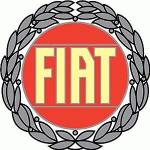 "Amazon.com: Fiat Car Bumper Sticker 5"" x 5"": Automotive"