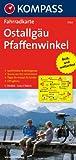 Ostallgäu - Pfaffenwinkel: Fahrradkarte. GPS-genau. 1:70000 (KOMPASS-Fahrradkarten Deutschland, Band 3124) title=
