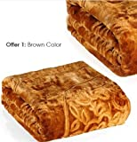 SINGLE bed premium mink blankets at wholesale rate. 160 X 220cms. MADE IN INDIA