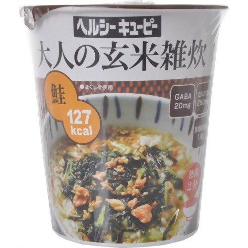 ヘルシーキユーピー大人の玄米雑炊 鮭 34.1g