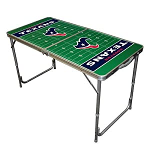 Amazon.com : NFL Houston Texans 2x4 Tailgate Table : Combination