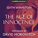 The Age of Innocence Hörbuch von Edith Wharton Gesprochen von: David Horovitch