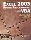 Excel 2003 Power Programming with VBA (Book & CD-ROM) (0764540726) by Walkenbach, John