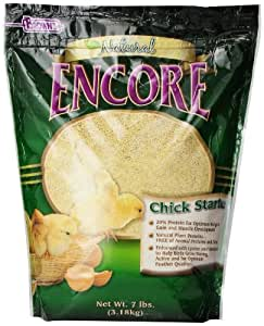 F.M. Brown's Encore Natural Chick Starter Daily Diet for Pets, 7-Pound