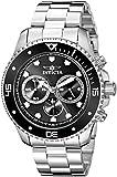 Invicta Men's 21787 Pro Diver Analog Display Quartz Silver-Tone Watch