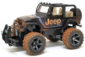 New Bright 1:15 Jeep Wrangler Mud Slinger Radio Control Vehicle