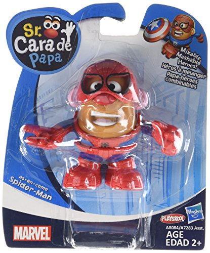 Mr. Potato Head Spider-Man Mixable Mashable Heroes Mr. Potato Head as Spider-Man Figure - 1