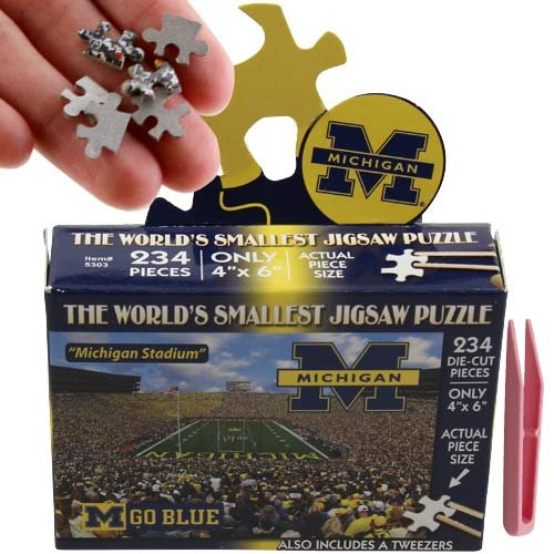NCAA Michigan Wolverines World's Smallest Puzzle - 1