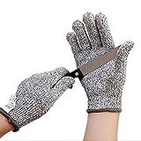 ZITFRI Schnittschutzhandschuhe für Küche - Schnittschutzklasse 5 - Hochleistung schnittfeste