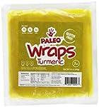 Paleo Wraps, Gluten Free Turmeric Wra...