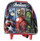 Marvel Little Boys' Avengers 12 Inch Rolling Backpack