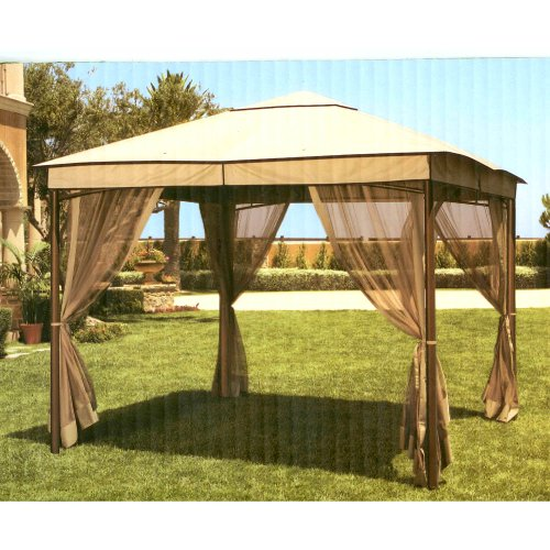 Backyard Canopy Gazebo : 2009 Sonoma Gazebo Replacement Canopy  Gazebos  Outdoor Decor
