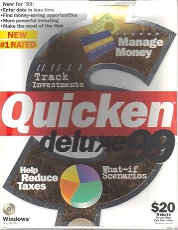 Quicken Deluxe 99 [ Windows 95 / 98 / NT ]