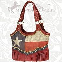Texas Flag and Fringe