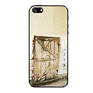 Vibhar printed case back cover for Apple iPhone 4 Darwaja