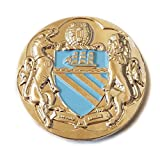 Manchester City UNOFFICAL Badge Selection (Coat of Arms SKY (30mm))