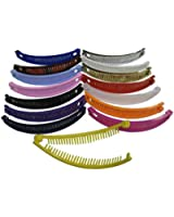 5 Inch Banana Clips for Hair 3 Packs of 6 (Total 18 Pieces)