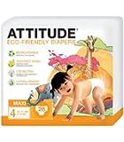 Attitude Eco Friendly Size 4 x 26 nappies (104 nappies)