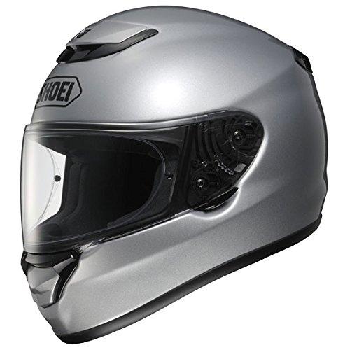 Nouveau casque de moto argent lumineux de Shoei Qwest plaine