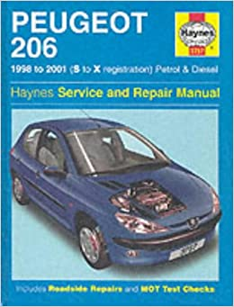 peugeot 206 petrol and diesel service and repair manual. Black Bedroom Furniture Sets. Home Design Ideas