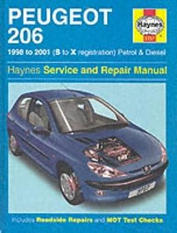 peugeot 206 petrol and diesel service and repair manual  haynes service and repair manuals Peugeot 505 Peugeot 205 GTI