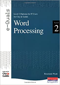 word processing (word processor)