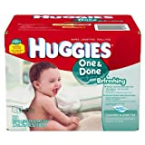 Huggies Baby Wipes Naturally Refershing Thick 'N' Clean Cucumber and Green Tea 320 Ct