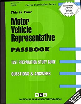 Motor Vehicle Representative: Test Preparation Study Guide ...