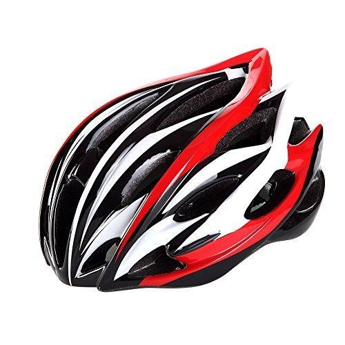 Super-Anti-pressure-ultralight-Adult-Cool-Road-Mountain-Bike-Cyclig-Helmets-blackredwhite-A