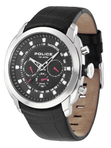 Police Men's Pilot Black Watch 12677Js/02