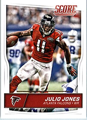 2016 Score #16 Julio Jones Atlanta Falcons Football Card-MINT