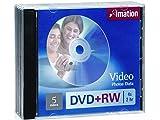 Imation - 5 x DVD+RW - 4.7 GB 4x - jewel case - storage media