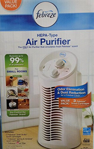 Febrez Hepa-Type Air Purifier The Only Air Purifier That Circulates Fresh Febreze Scent Say Yes To Fresh
