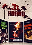 Horror Box Set: Night Of The Living Dead / Last Cannibal World / The New York Ripper - All Uncut! [DVD]