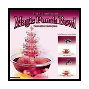 Fortune Products 3-in-1 Magic Punch Bowl