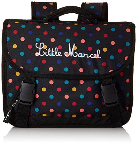 Little Marcel Zaino Scuola, POIS 328 (Multicolore) - H15ABAG0660