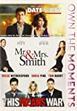 Date Night / Mr & Mrs Smith / This Means War [DVD] [Region 1] [US Import] [NTSC]