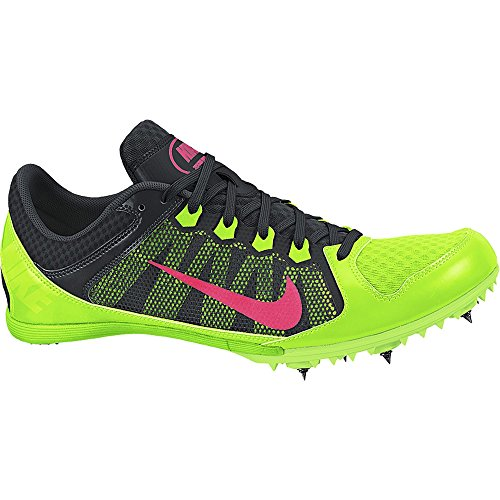 Nike Zoom Rival MD 7 Track Spike Electric Green/Black/Hyper Punch Size 11 M US (Spikes Running Nike Rival D compare prices)