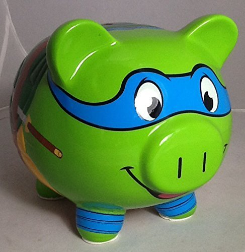 Teenage Mutant Ninja Turtle Leonardo Piggy Bank - 1