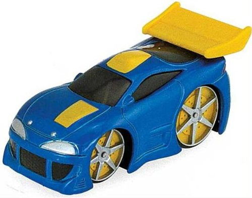 Ertl 3 In Blue and Yellow Car