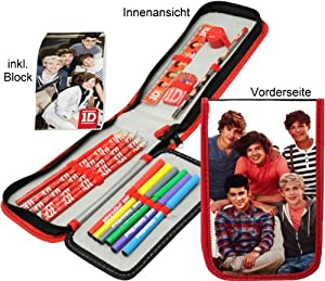 Amazon.com : One Direction 1d Filled Pencil Case Stationery : Pencil