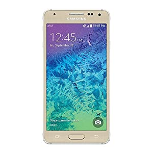 Samsung Galaxy Alpha G850a 32GB (AT&T Unlocked) GSM 4G LTE Quad-Core Smartphone (Gold)