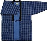 久留米手づくりはんてん紳士用・日本製・中わた綿(cotton)入り (102)