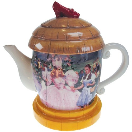 Westland Giftware Ceramic Teapot, Wizard of Oz Munchkinland, 8-Inch, 26-Ounce