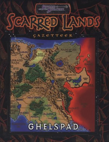Image for Scarred Lands Gazetteer : Ghelspad